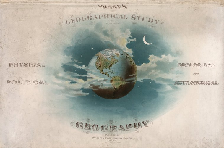 David Rumsey Cartography - Yaggy's Geographical Study
