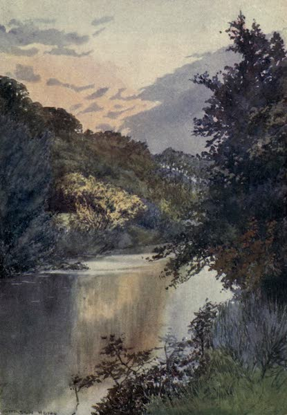 Yorkshire Coast and Moorland Scenes Painted and Described - An Autumn Scene on the Esk (1904)