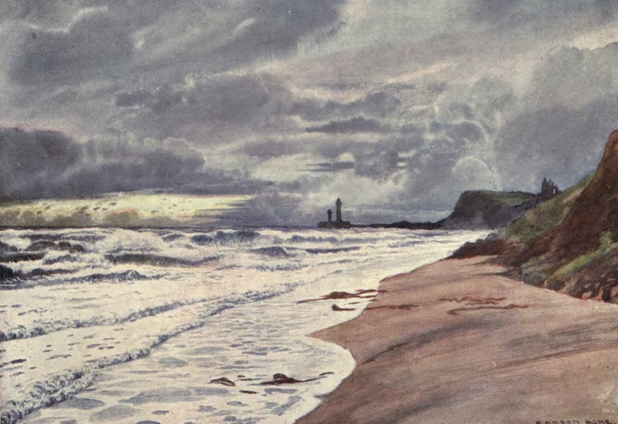 Yorkshire Coast and Moorland Scenes Painted and Described - A Stormy Afternoon (1904)