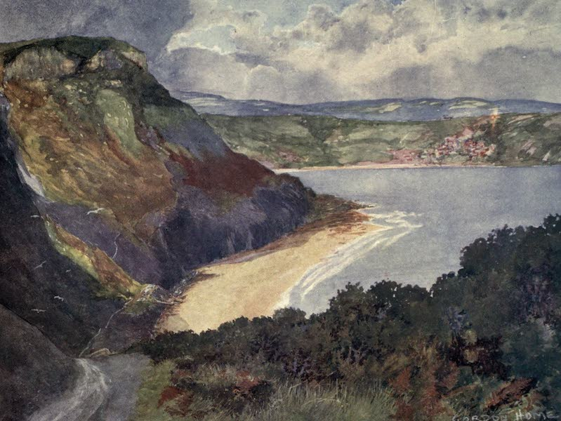 Yorkshire Coast and Moorland Scenes Painted and Described - Runswick Bay (1904)