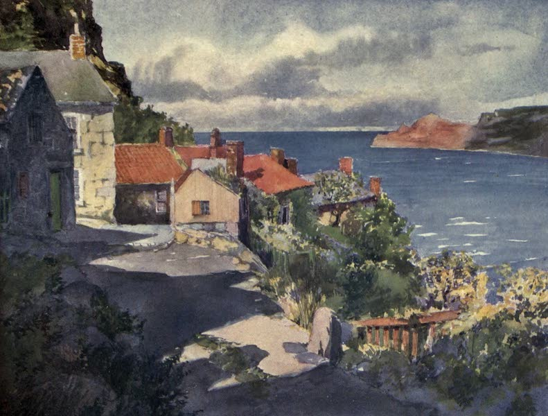 Yorkshire Coast and Moorland Scenes Painted and Described - A Sunny Afternoon in Runswick (1904)