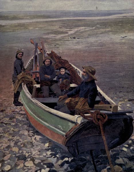 Yorkshire Coast and Moorland Scenes Painted and Described - Three Generations at Staithes (1904)