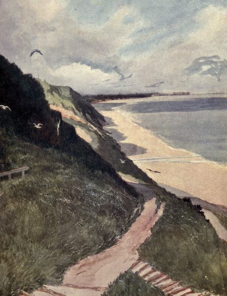 Yorkshire Coast and Moorland Scenes Painted and Described - The Coast at Saltburn (1904)