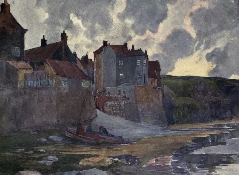 Yorkshire Coast and Moorland Scenes Painted and Described - Robin Hood's Bay (1904)