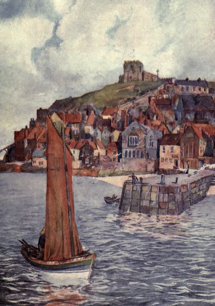 Yorkshire Coast and Moorland Scenes Painted and Described - The Red Roofs of Whitby (1904)
