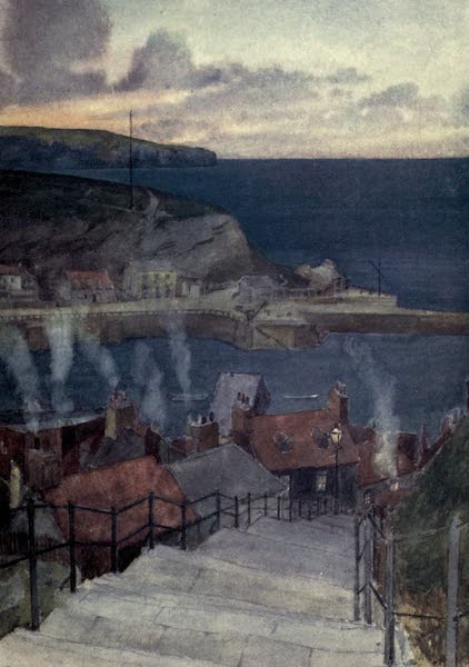 Yorkshire Coast and Moorland Scenes Painted and Described - Evening at Whitby (1904)