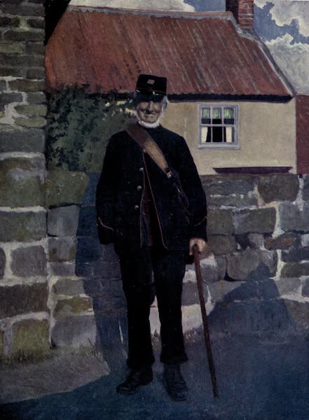 Yorkshire Coast and Moorland Scenes Painted and Described - A Yorkshire Postman (1904)