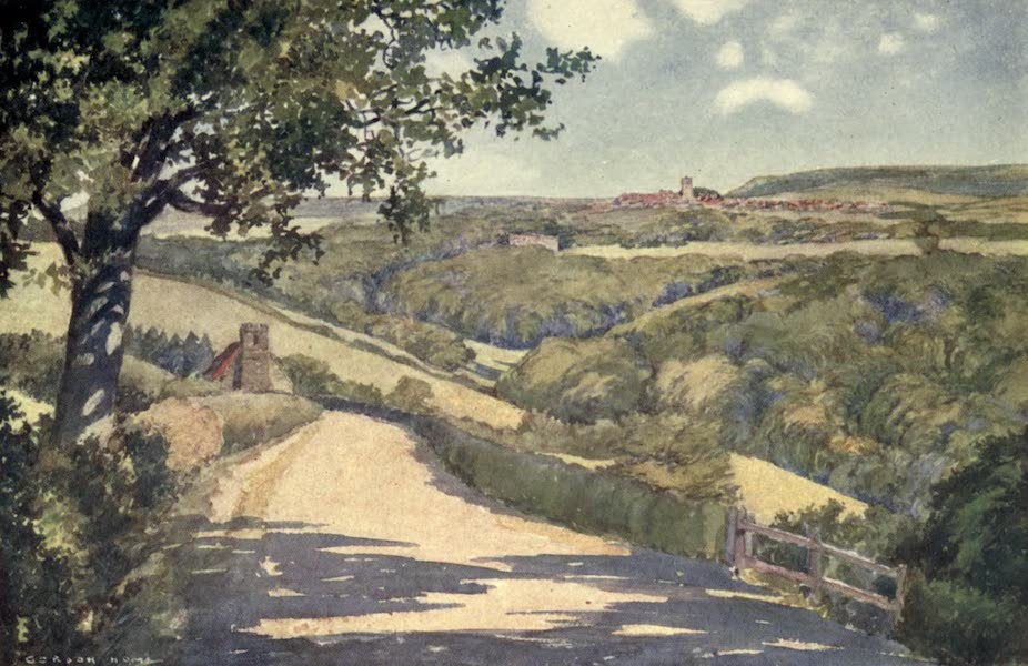 Yorkshire Coast and Moorland Scenes Painted and Described - The Skelton Valley (1904)