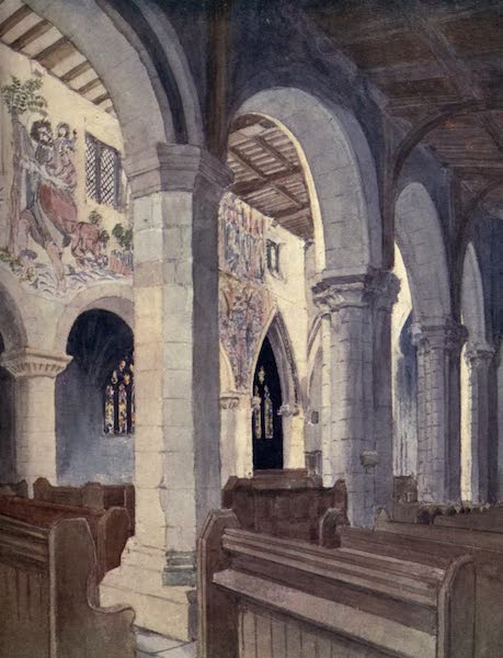 Yorkshire Coast and Moorland Scenes Painted and Described - In Pickering Church (1904)