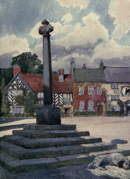 Yorkshire Coast and Moorland Scenes Painted and Described - The Market-place, Helmsley (1904)