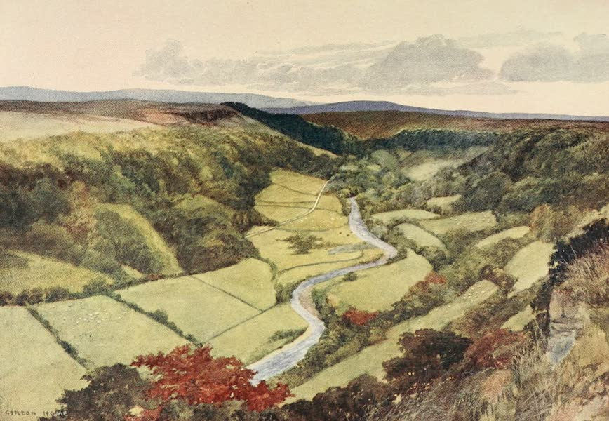 Yorkshire Dales and Fells Painted and Described - Swaledale in the Early Autumn (1906)