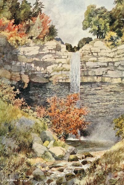 Yorkshire Dales and Fells Painted and Described - Hardraw Force (1906)