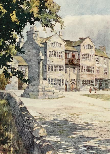 Yorkshire Dales and Fells Painted and Described - A Jacobean House at Askrigg (1906)