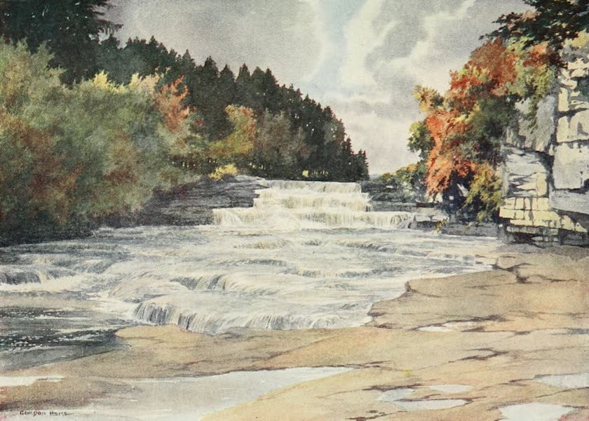 Yorkshire Dales and Fells Painted and Described - Aysgarth Force (1906)