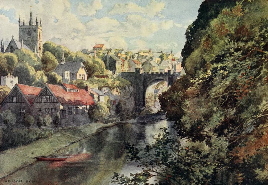 Yorkshire Dales and Fells Painted and Described - Knaresborough (1906)