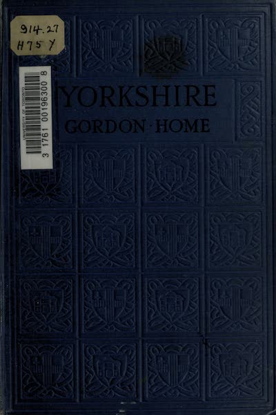 Yorkshire Painted and Described - Front Cover (1925)