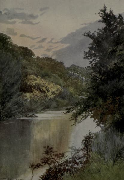 Yorkshire Painted and Described - Sleights Moor from Swart Houe Cross (1925)