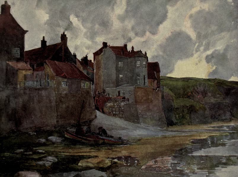 Yorkshire Painted and Described - Robin Hood's Bay (1925)