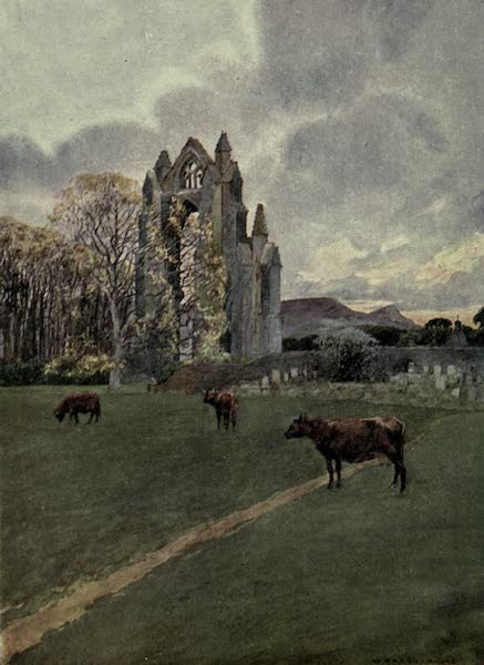 Yorkshire Painted and Described - An Autumn Day at Guisborough (1925)