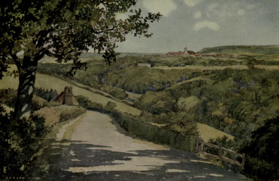 Yorkshire Painted and Described - The Skelton Valley (1925)