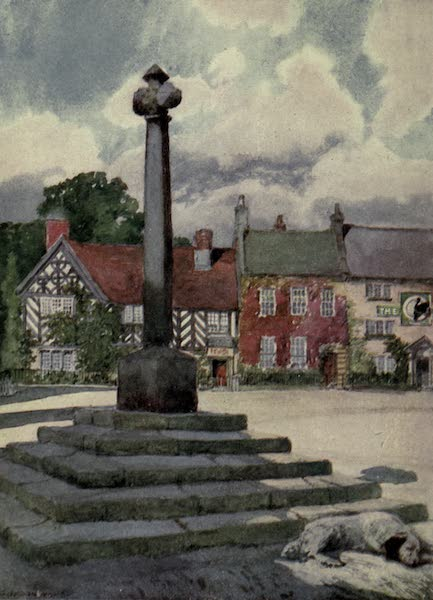 Yorkshire Painted and Described - The Market-place, Helmsley (1925)