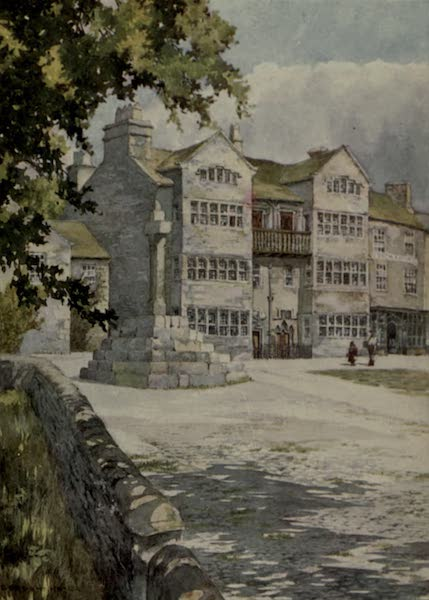 Yorkshire Painted and Described - A Jacobean House at Askrigg (1925)