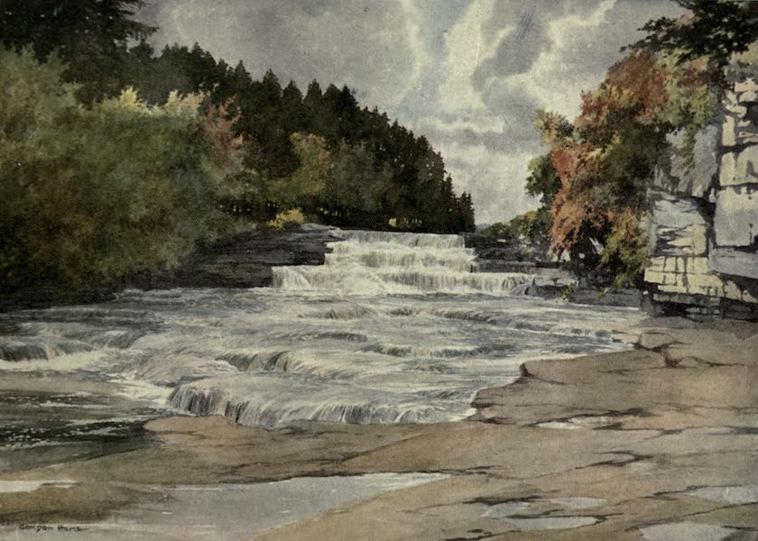 Yorkshire Painted and Described - Aysgarth Force (1925)