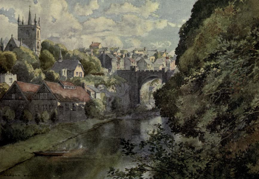 Yorkshire Painted and Described - Knaresborough (1925)