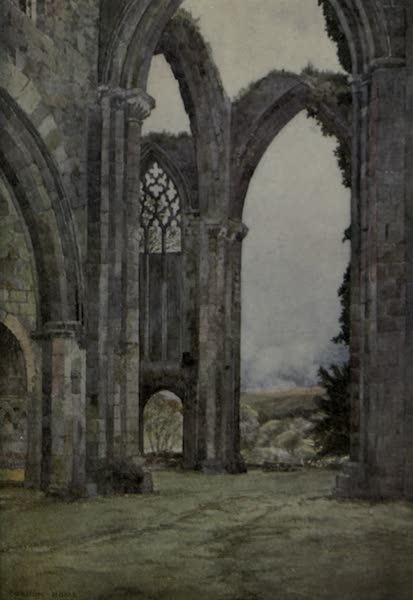 Yorkshire Painted and Described - Bolton Abbey, Wharfedale (1925)