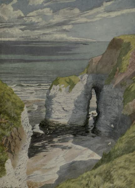 Yorkshire Painted and Described - The Outermost Point of Flamborough Head (1925)