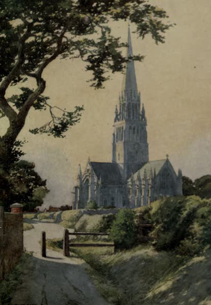 Yorkshire Painted and Described - Patrington Church (1925)