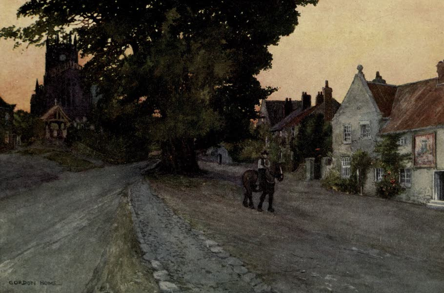 Yorkshire Painted and Described - Coxwold Village (1925)