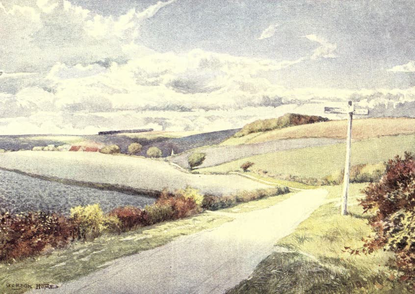 Yorkshire Vales and Wolds Painted and Described - Wind and Sunshine on the Wolds (1908)
