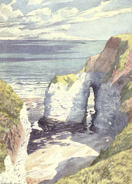 Yorkshire Vales and Wolds Painted and Described - The Outermost Point of Flamborough Head (1908)
