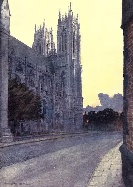 Yorkshire Vales and Wolds Painted and Described - Beverley Minster (1908)