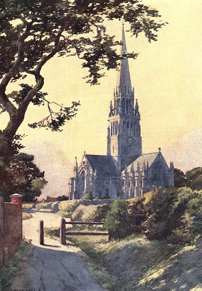 Yorkshire Vales and Wolds Painted and Described - Patrington Church (1908)