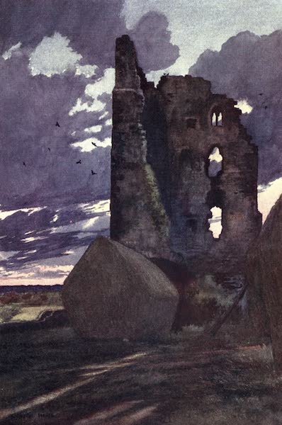 Yorkshire Vales and Wolds Painted and Described - Sheriff Hutton Castle (1908)