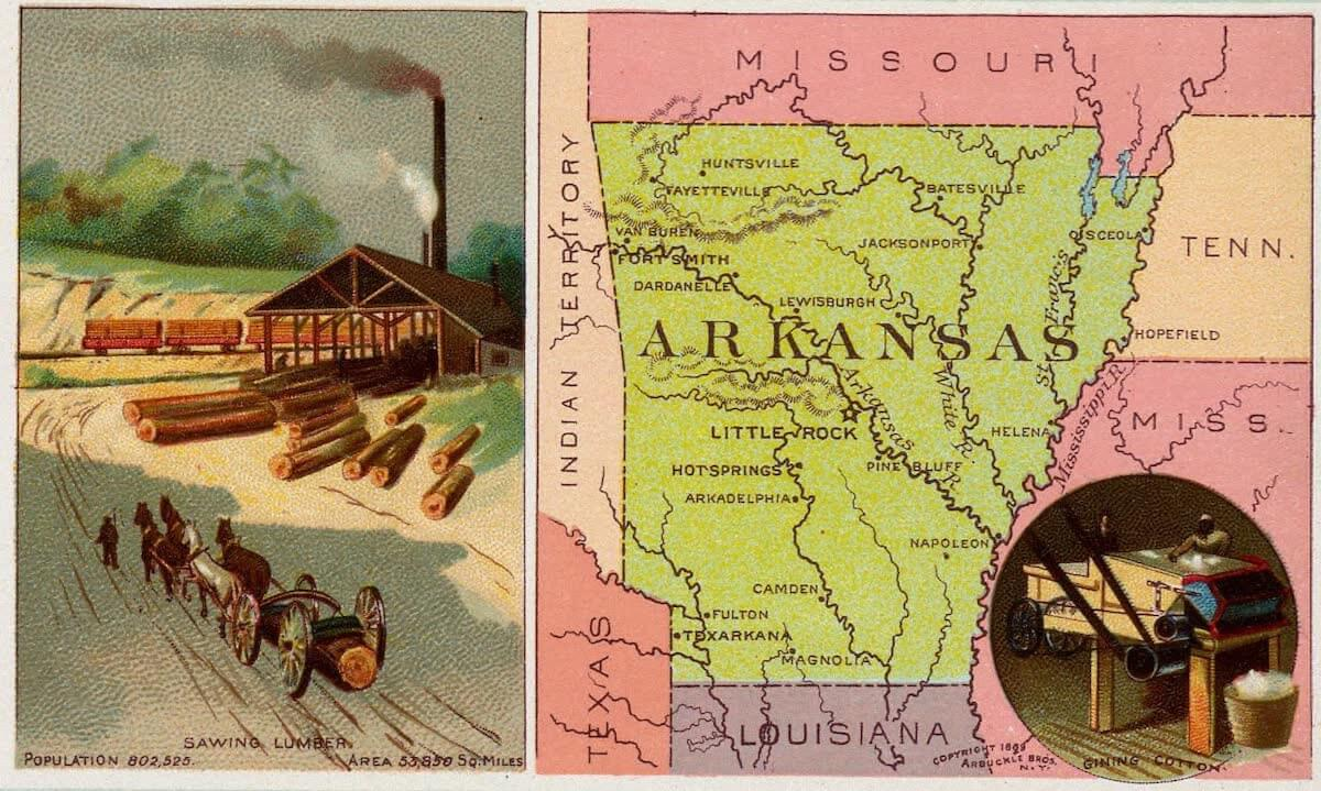 History Archive - Arkansas Collection
