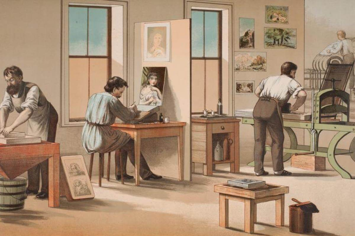 History Archive - Chromolithography Collection